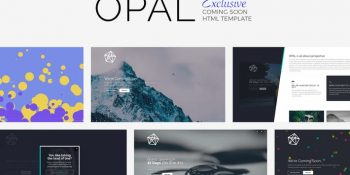 OPAL - Exclusive Template Coming Soon