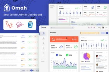 Omah - RealEstate Laravel Bootstrap Admin Template