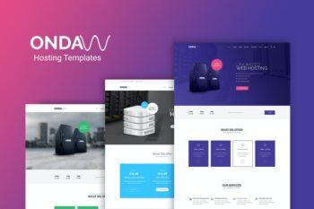 Onda - Web Hosting, Responsive HTML5 Template