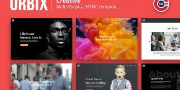 Orbix - Creative Multi-Purpose Template