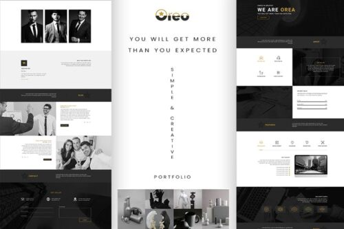Oreo - Ultimate Creative Home Page