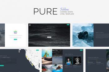 PURE - Sublime Soon Template