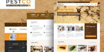 Pestco - Pest Control HTML Template
