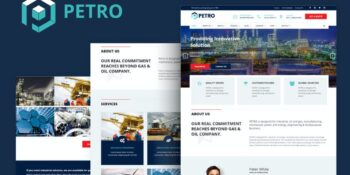 Petro - Industrial HTML Template