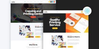 Printfy - Print company template React Next