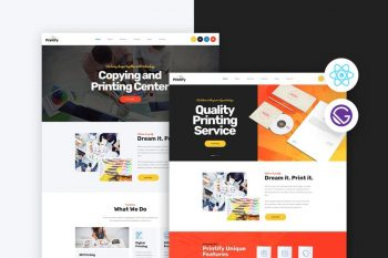 Printify - Gatsby React Printing Company Template