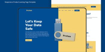 Protem - Product Landing Page Template