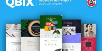 Qbix - Responsive Multi-Purpose HTML Template