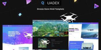 Quadex Drones Store Html Template