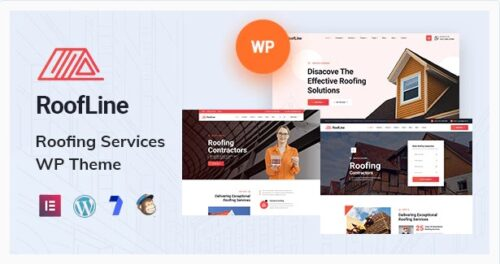RoofLine - Roofing Services WordPress Theme