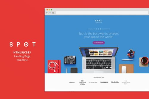 SPOT - Application Service Home Page