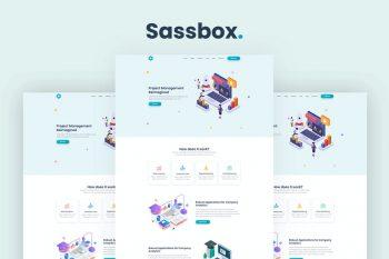 Sassbox - Starter and SaaS Template