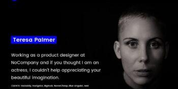 Singular Minimalist Personal Portfolio Template