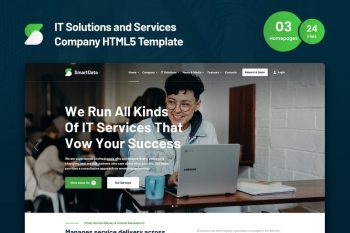 Smartdata - IT Services and Solutions HTML5 Template