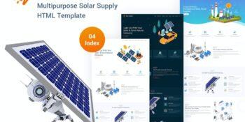 Solar Supplier - Responsive HTML Template