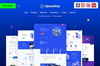 SpaceMax - Multipurpose HTML Landing page