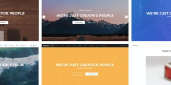 Spacia - One-page parallax template