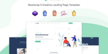 Stabig - Bootstrap 5 Landing Page Template