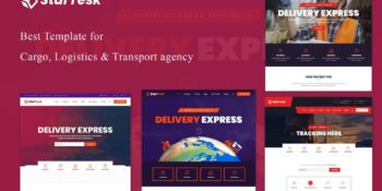 Startesk - Logistics and Transportation HTML5 Template