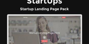 Startups - Landing page