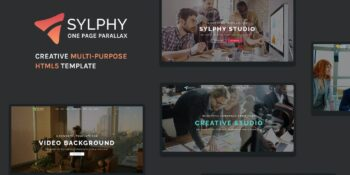 Sylphy - Creative Multipurpose HTML5 Template