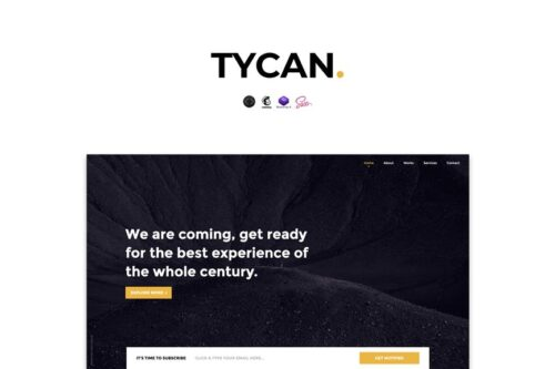 TYCAN - Timeless Coming Soon Template