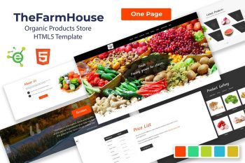 TheFarmhouse - Green Products HTML5 Template