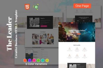 Theleader - HTML5 Creative Business Template