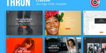 Thron - Creative One Page Template