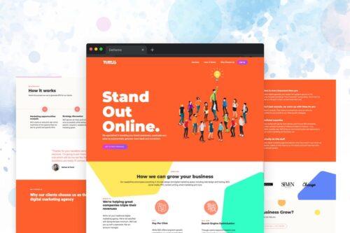 Turus - Digital Marketing Agency Template