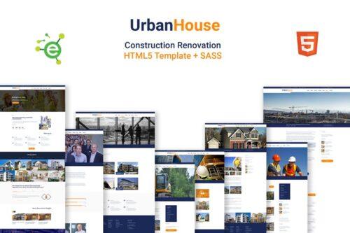 Urbanhouse- HTML5 Construction Renovation Template