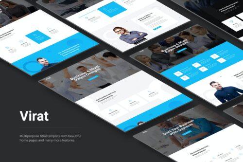 Virat- Responsive Multipurpose HTML5 Template
