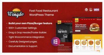 Wengdo - Fastfood WordPress Theme