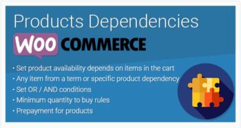 WooCommerce Products Dependencies