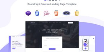 Xolcy - Bootstrap 5 Creative Landing Page Template