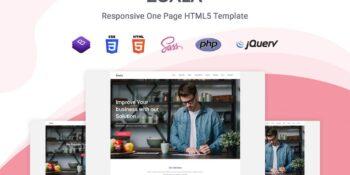 Zoala - One Page HTML5 Template