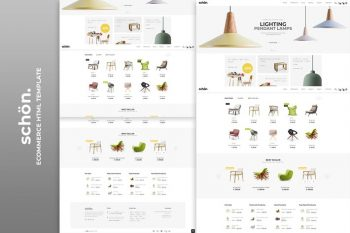 schön HTML eCommerce template