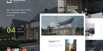 Bauhaus - Landing Page | Architecture & Interior