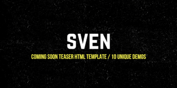 Coming Soon Teaser HTML Template 10 Unique Demos