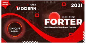 Forter - Magazine and Blog WordPress Theme