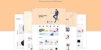 Kinen Multipurpose Ecommerce HTML5 Template