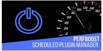 PerfBoost Scheduled Plugin Manager - Boost WordPress Performance