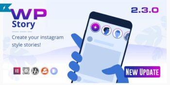 WP Story Premium - Instagram Style Stories For WordPress