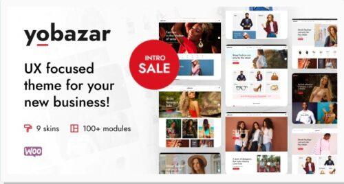 Yobazar - Elementor WooCommerce WordPress Theme