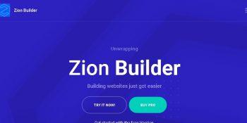 Zion Builder Pro - The Fastest WordPress Page Builder