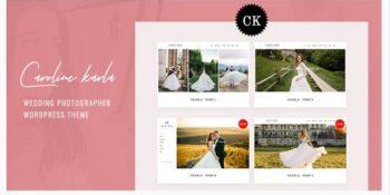 Ckarla - Wedding Photography WordPress Theme