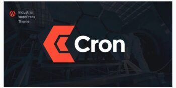 Cron Industry WordPress Theme