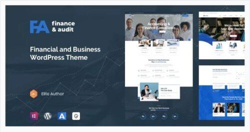Famulus - Finance WordPress