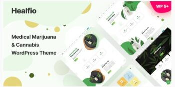Healfio - Medical Marijuana & Coffeeshop WordPress Theme