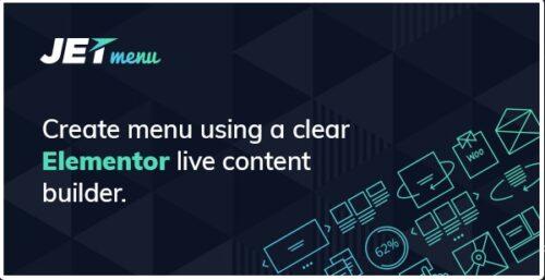 JetMenu - Mega Menu for Elementor Page Builder Add-ons